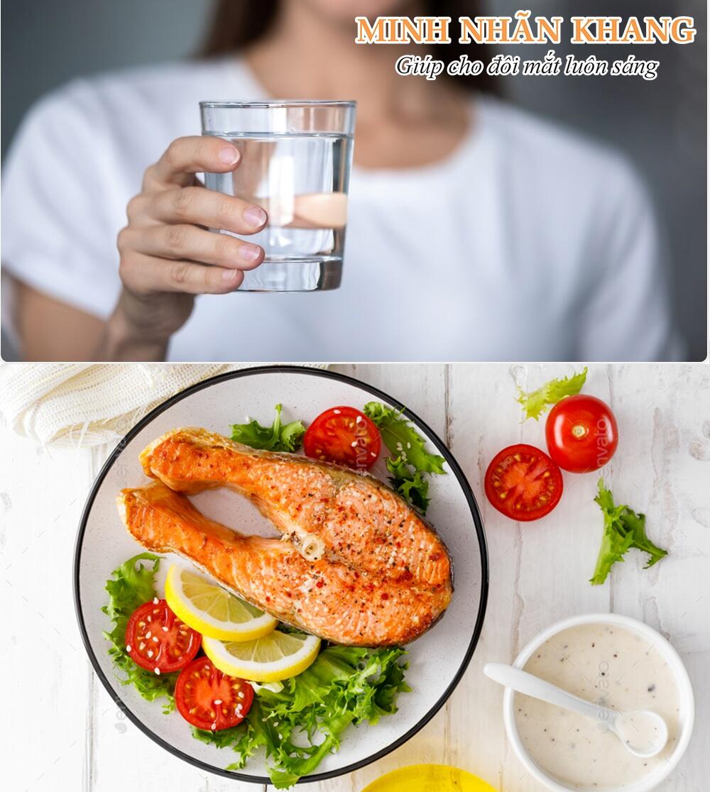 Ăn uống khoa học sẽ giúp ngăn chặn hiện tượng ruồi bay trước mắt